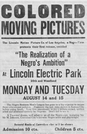 realization negro's ambition