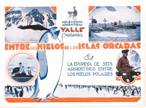 hielos de las islas orcadas