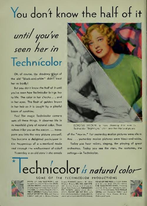 technicolor publicidad