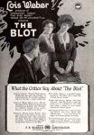 el borron the blot 1921 lois weber cartelposter