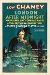 La Casa del Horror (London After Midnight, 1927) de Tod Browning – lon chaney postercartel
